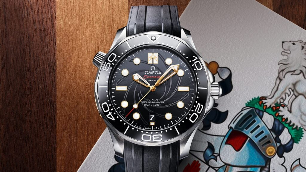 """OMEGA SEAMASTER DIVER 300M """"007 ON HER MAJESTY'S SECRET SERVICE"""" 50TH ANNIVERSARY"""